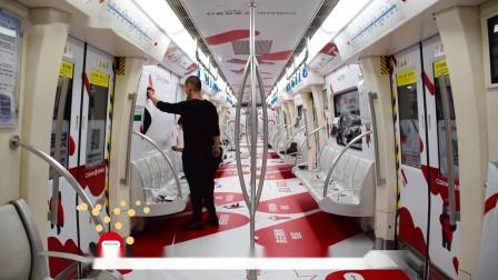 """【雅仕维天津】浙商银行""""小红人""""号列车  专属空间广传播"""