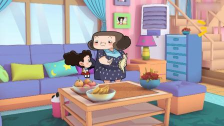 棉花糖和云朵妈妈:妈妈说可以做个简单点的,妈妈要做恐龙点心