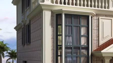 这款别墅太漂亮了,户型经典,气度不凡,有想看里面布局图的吗?快快点赞👍#农村别墅图纸