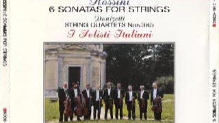 罗西尼 -《六首弦乐奏鸣曲》(1-6 )意大利独奏家乐团