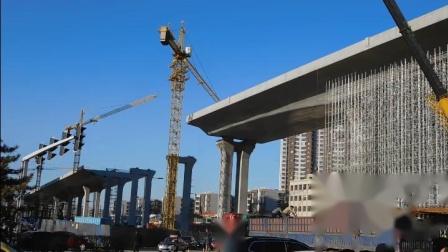 建设中的大同《开源街高架路》(二)