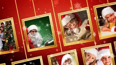 12082 圣诞树图片展示片头