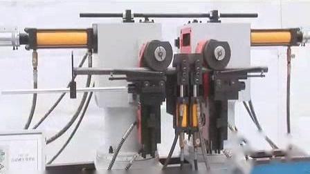 我在浙江顺信机械双头液压弯管机SXS-38操作实录截了一段小视频