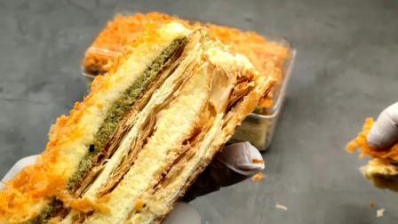 拿破仑奶油酥皮蛋糕做法
