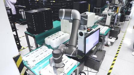 Techman Robot 达研SSD视觉取料及TRAY盘堆栈