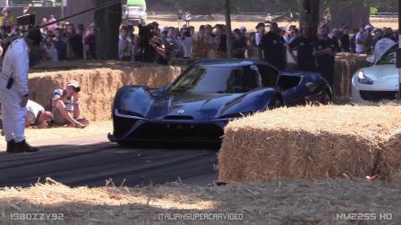 世界最快电动车蔚来EP9 驱动平板输出