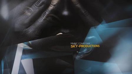 AE模板 大气唯美光效颁奖典礼晚年会人物图文展示开场视频宣传片