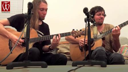 Mike Dawes and Jake Allen TONEWOODAMP UNPLUGGED live with