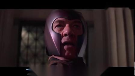 x战警——拿枪威胁万磁王,你们不是来搞笑的吧