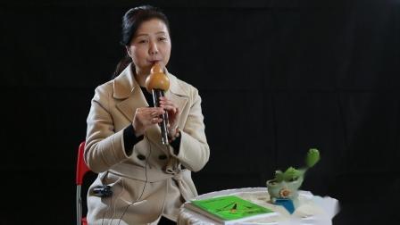 冯玉葫芦丝教学演奏《月亮升起来》