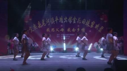 海南省定安县龙河镇平塘村出嫁女回娘家欢聚(视频)