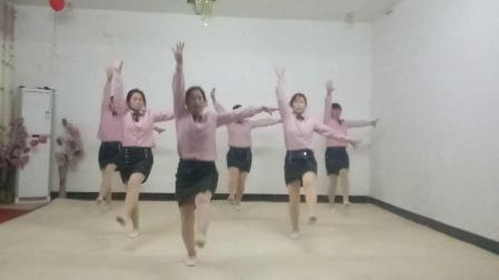 基督教舞蹈(爱的曙光)自编,夹沟镇辛丰舞蹈团原创