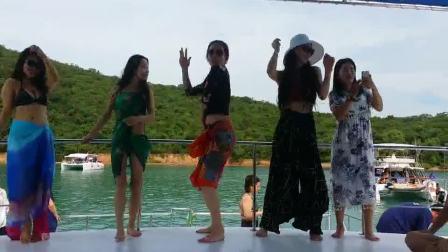 北京宁宁钢管舞 泰国游学 游轮之舞