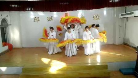 龙江县华民乡基督教会2018圣诞节舞蹈,这一生最美的祝福。