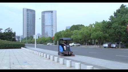 扫路车,清扫车,电动扫地车价格,扫地车厂家视频 【容恩】