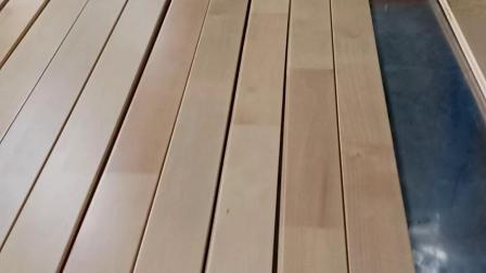 浩林体育/运动木地板开槽/体育运动木地板开槽