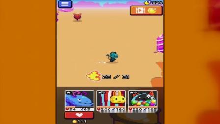 【小熙解说】妖精组合_杂交出超人姜饼国王猫咪扭蛋机和兔米花