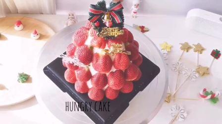 #长沙生日蛋糕 #圣诞礼物  #圣诞蛋糕  #草莓蛋糕塔  #长沙