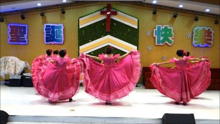 天国最美   双鸭山交通局基督教会舞蹈