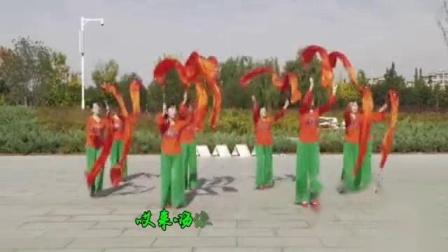 我在广场舞·红红火火大中国截了一段小视频