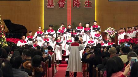 以灵歌唱-锡安堂联合小组唱2018平安夜