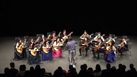 香港結他合奏團 演奏 貝多芬:悲愴奏鳴曲第二樂章 - 如歌的柔板