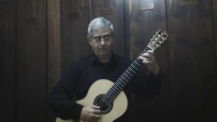 卡尔卡西 A小调练习曲 帕肯宁古典吉他教程