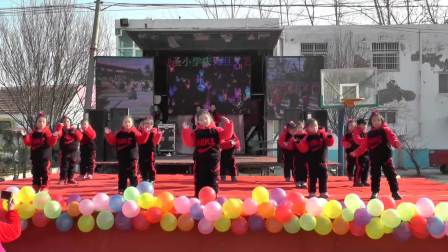 淮阳县齐老乡蓝天学校2019年元旦文艺汇演