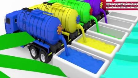 颜料罐车在浴缸里给超级跑车染色 家中的美国学校