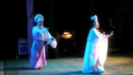 我在永康市婺剧团★在台上随拍截了一段小视频