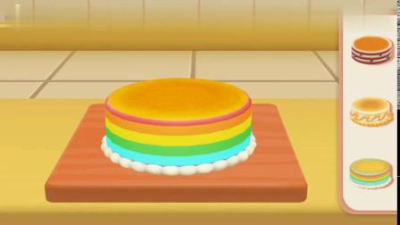 超级飞侠儿童游戏之乐迪蛋糕店-乐迪为小青做好吃的圣诞蛋糕8661