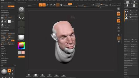 ZBrush三维模型数字雕刻入门到高阶全面培训视频教程
