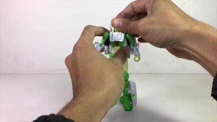 【搬运速送】爱是一道光!女汽车人!围城系列 D级别 绿光Transformer Siege DELUXE CLASS GREENLIGHT Review