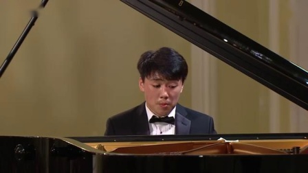 黎卓宇钢琴George Li performed in XV Tchaikovsky Competition - First Round