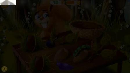 森林动物的选择和清理玩工艺品蛋糕面包店有趣的动物护理孩子游戏