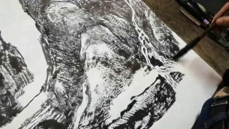 著名国画家李百战艺术创作纪录片-金安传媒
