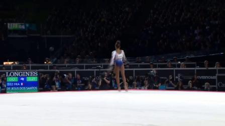 Melanie De Jesus Dos Santos-17世锦赛全能决赛自由操(5.3 8.033-0.1 13.233)