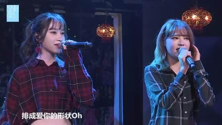 经典老歌《屋顶》重现舞台,熟悉的旋律和曲调引人哼唱 SNH48剧场公演 20190126