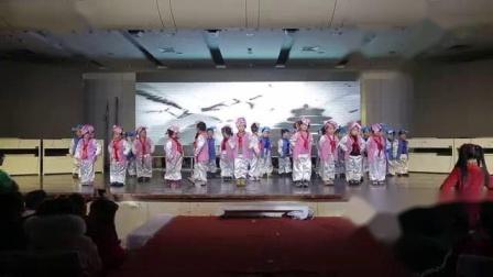 """我在义煤直属幼儿园2019""""家园同乐,喜迎新春""""新年年会(上午场)截了一段小视频"""