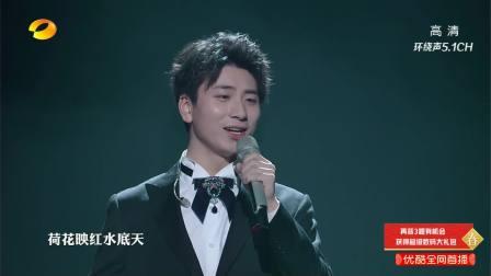美声少年献唱《八百里洞庭美如画》,诗意的歌词加动听的旋律将中国风诠释得别具魅力 2019湖南春晚 20190129