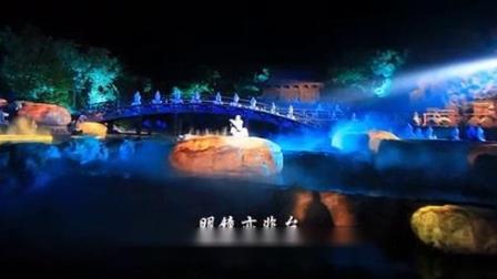 我在《禅宗少林·音乐大典》第一章《水乐》_高