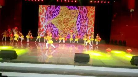 孟集文化艺术培训中心2017年《舞蹈小班》宝贝参加德州少儿春晚舞蹈(喜娃娃)