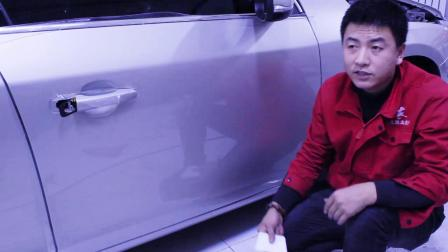 门板贴隐形车衣精细讲解教学视频