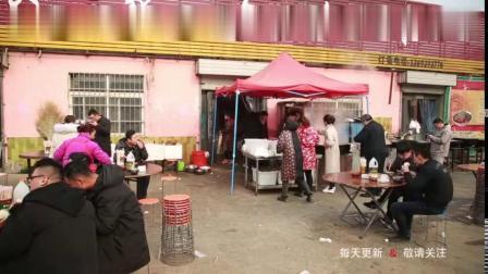 13米大铁锅炒菜一千人抢着吃带你见识河南大烩菜