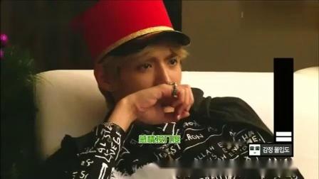 EXO12人一起看《七号房的礼物》测试泪点,吴亦凡率先哭了出来