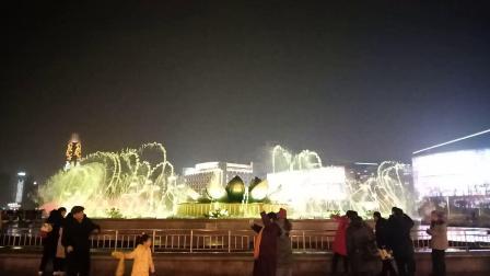 济南泉城广场音乐喷泉《美了美了》(小水量版