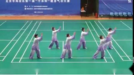 海淀区气功大赛一等奖--紫竹院辅导站(大舞)