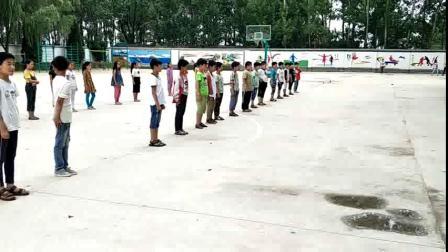 《站立式起跑》三年級體育,安徽亳州