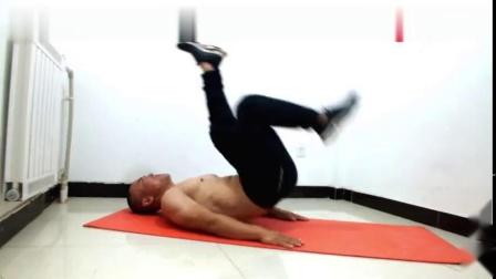 这样的俯卧撑你做过吗雕刻腹肌,打造真空腹,公狗腰全靠这两招