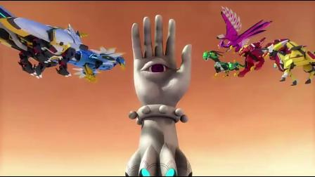 神兽金刚:神兽金刚打不过暗影麒麟,躲在巨大仙人掌后面